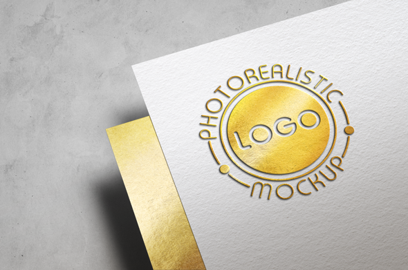 Logo Mock-Up Paper Edition example image 15