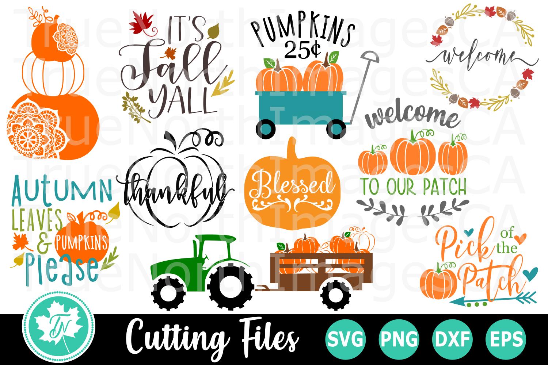 Mega Fall Bundle - SVG Cut Files example image 2