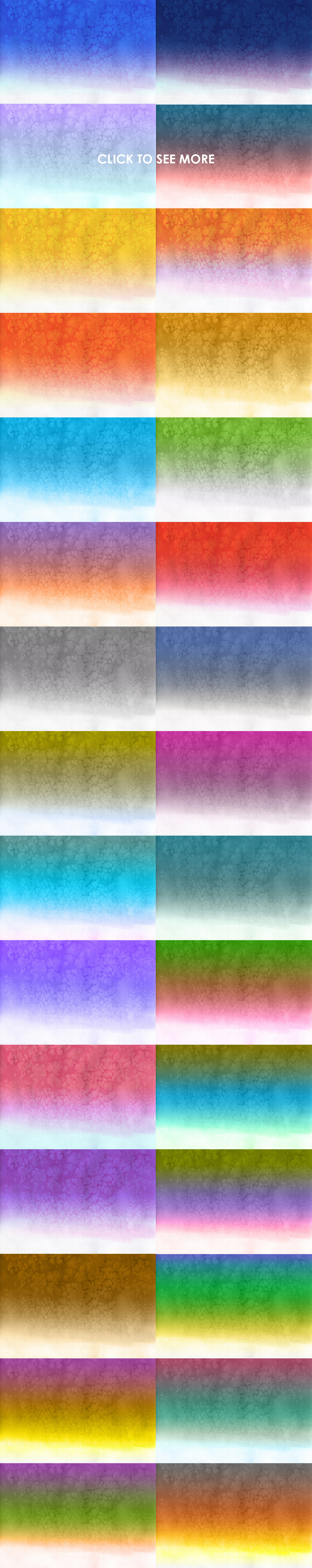 30 Watercolor Gradient Backgrounds example image 2