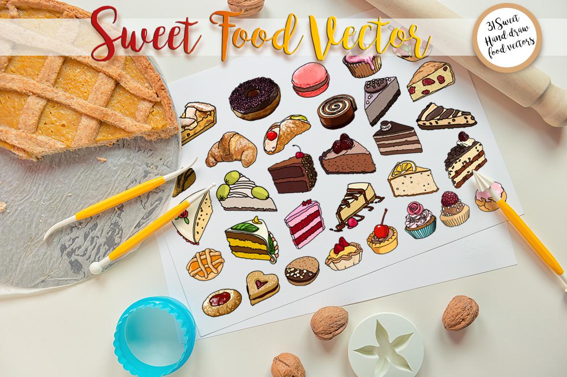 Sweet Food vector example image 3