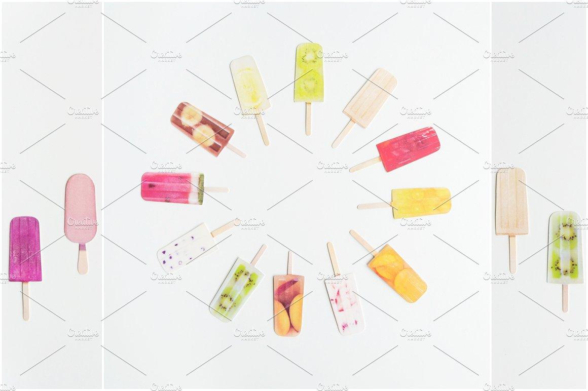Summer Photo Bundle - Ice Lollies example image 5
