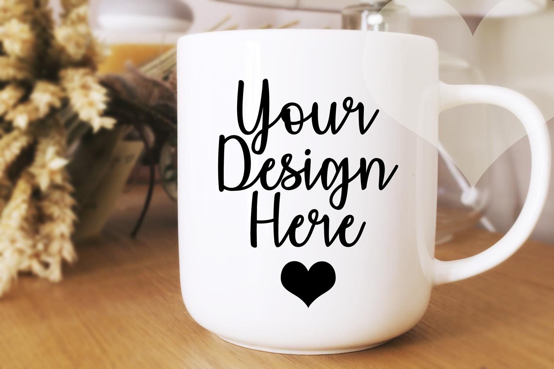White Mug Mockup, Mug Mockup, Blank Mug, Product Mockup example image 1