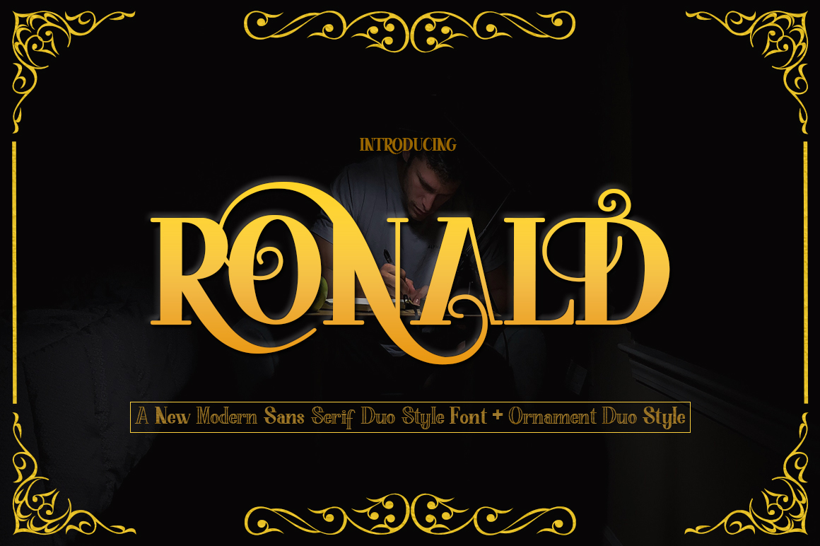 RONALD Duo Style - Ornament example image 1