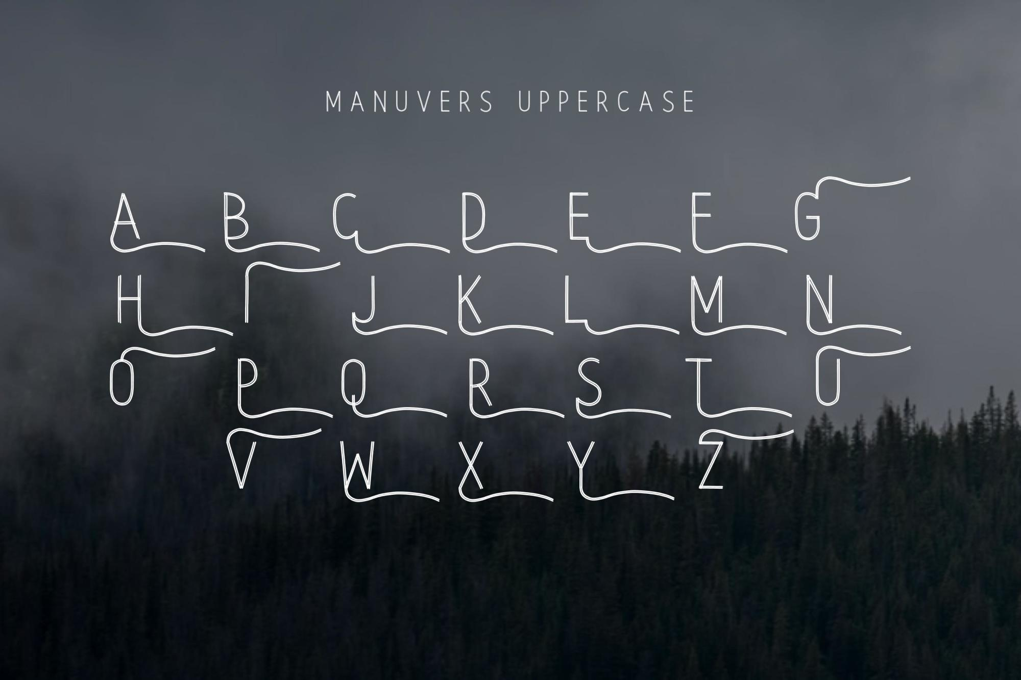 Manuvers - Handmade Sans Font - example image 4