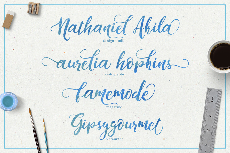 Dandeleón font + SWASHES example image 5