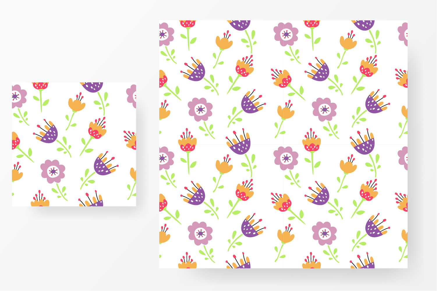 Flower design collection svg example image 5