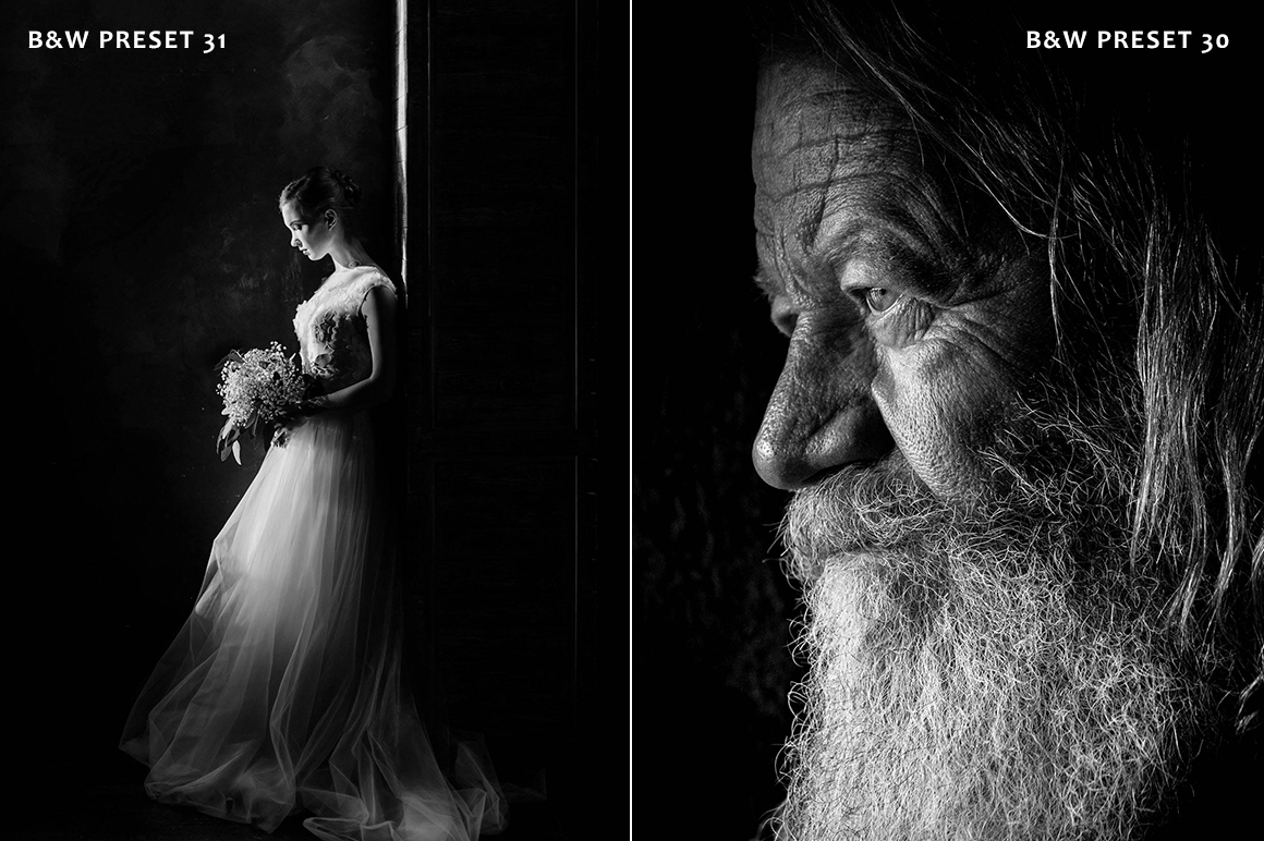 Black & White Collection Lightroom Presets example image 3