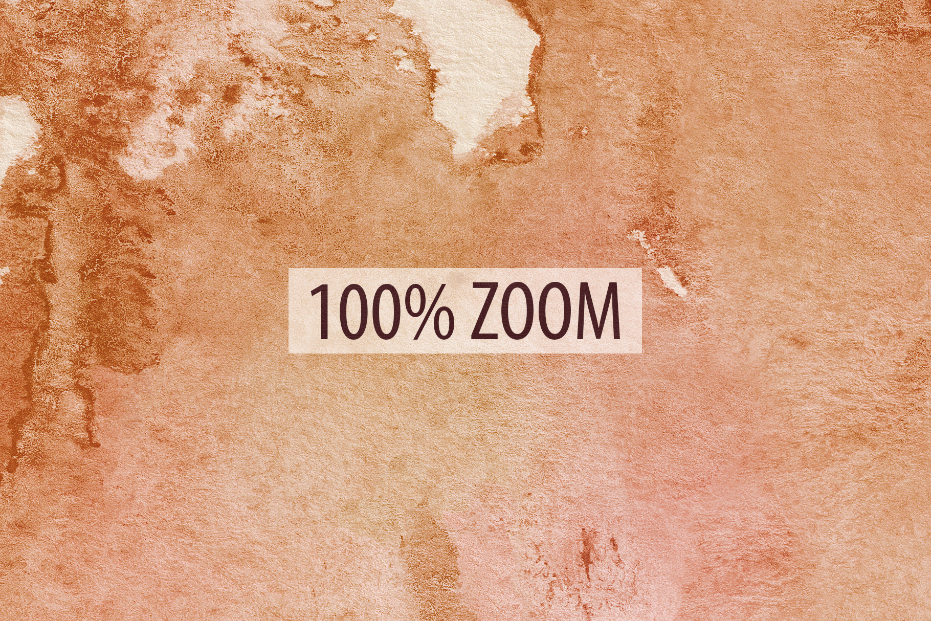 20 Seamless Watercolor Textures - Burnt Orange Backgrounds example image 12