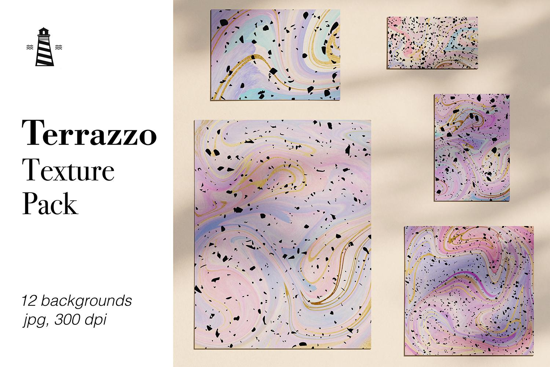 Terrazzo Texture Pack example image 1