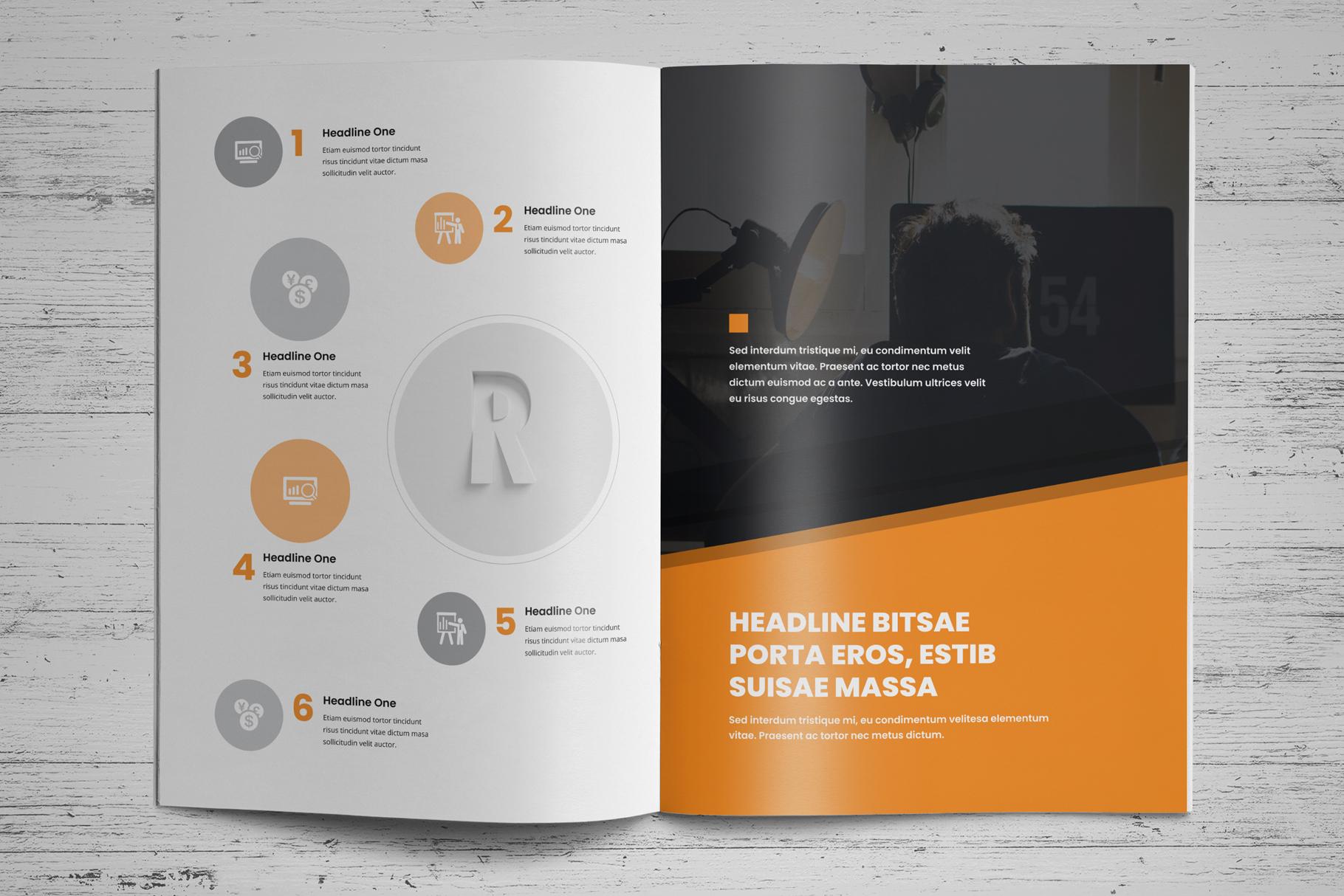 Portfolio Brochure Design v4 example image 9