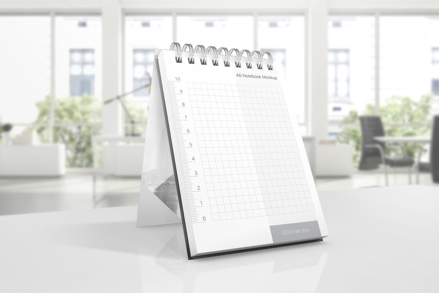 A6 Spiral Notebook Mockups example image 4