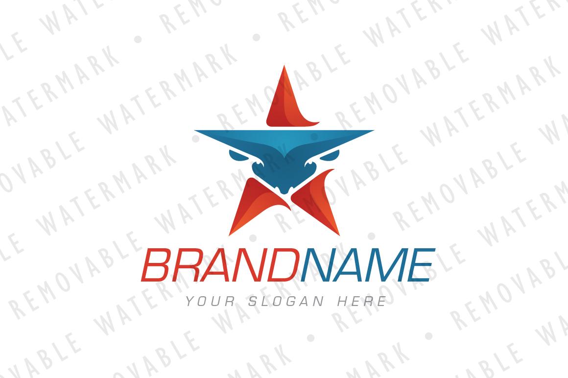 Bull Star Logo example image 1