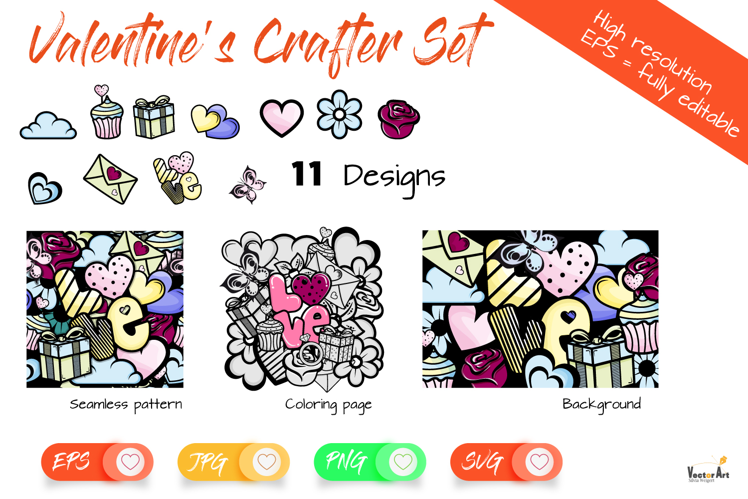 Valentine's Bundle - For Crafters example image 1