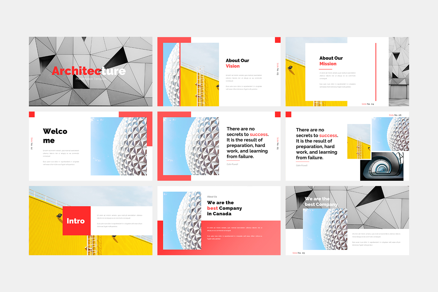 Architecture - Keynote Template example image 2