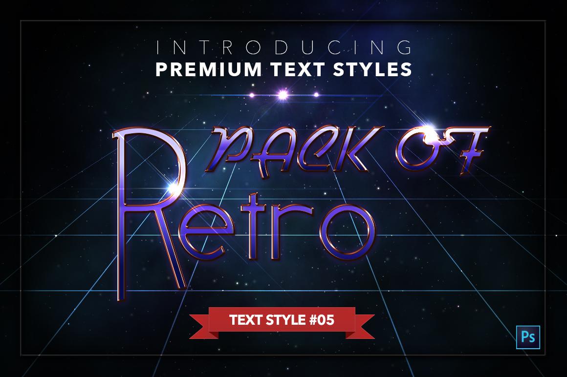 Retro #1 - 20 Text Styles example image 6