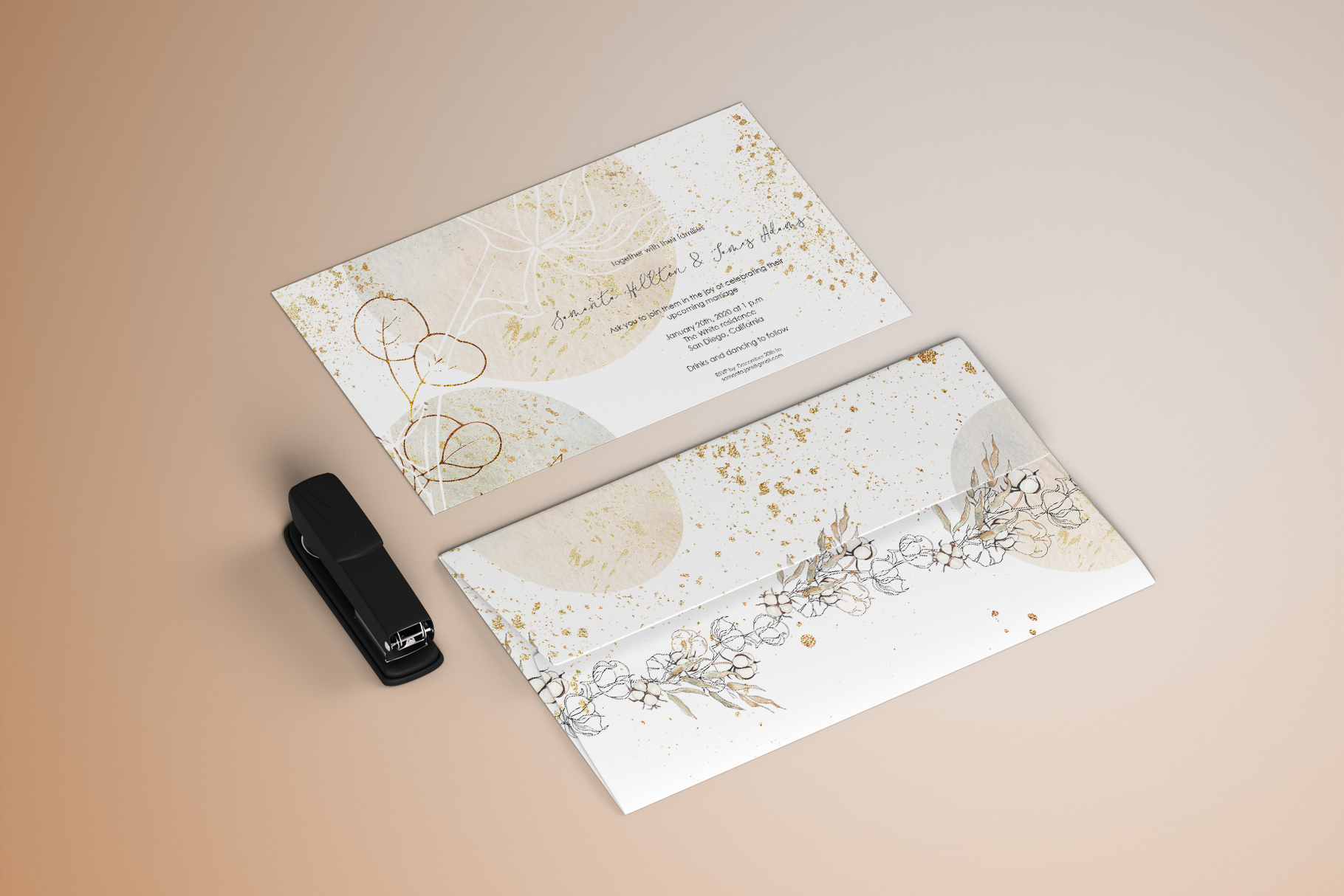 Winter wedding collection example image 3