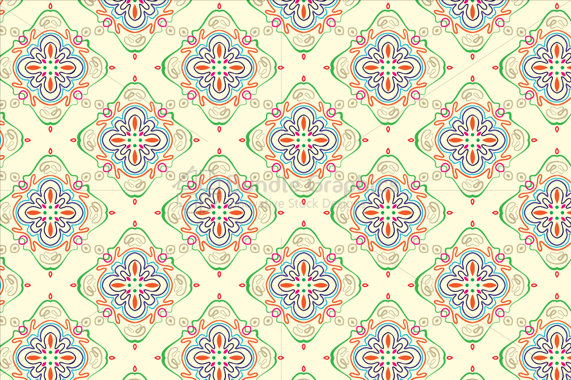 Linear Symmetrical Seamless Background example image 1
