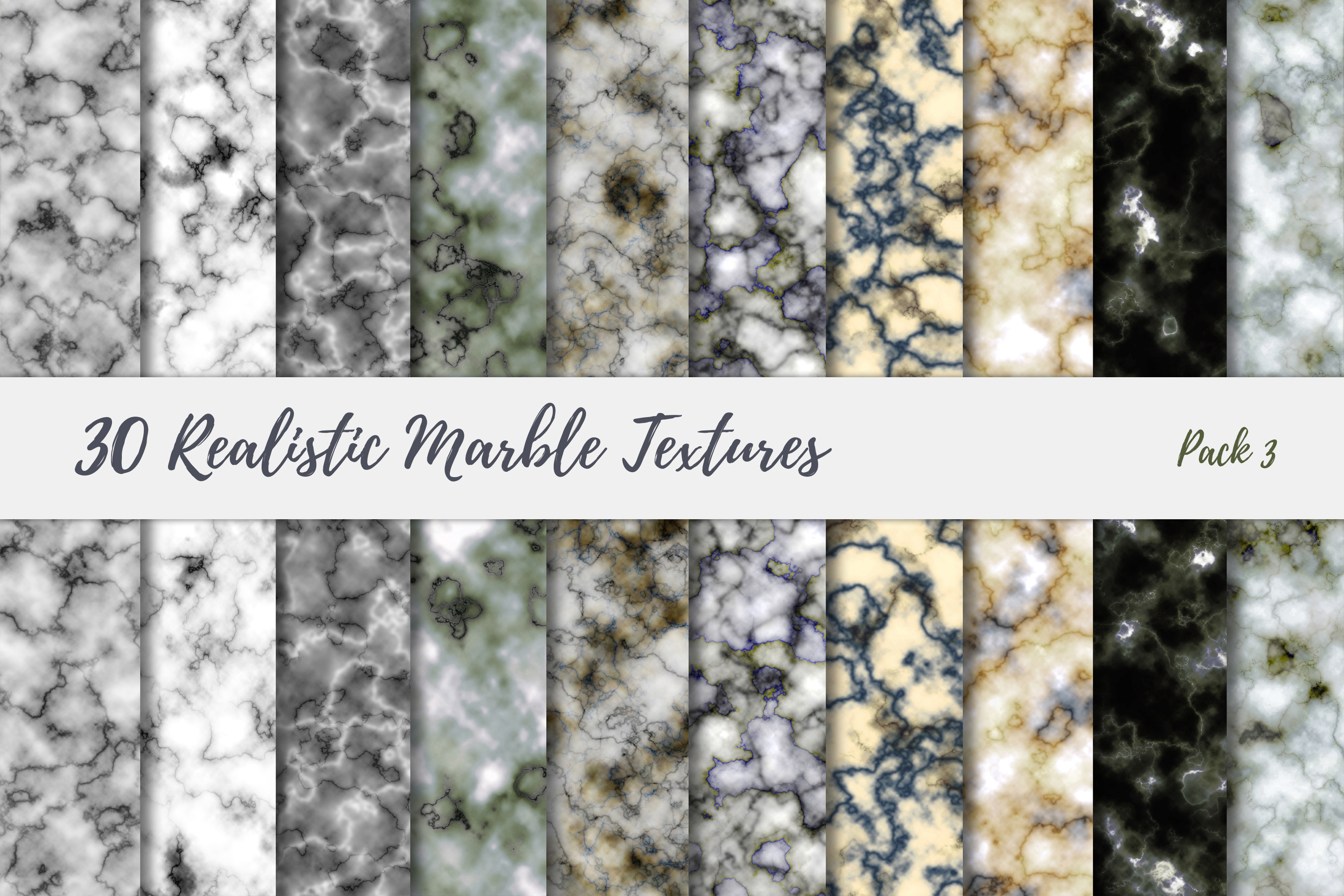 30 Realistic Marble Textures - JPG example image 18