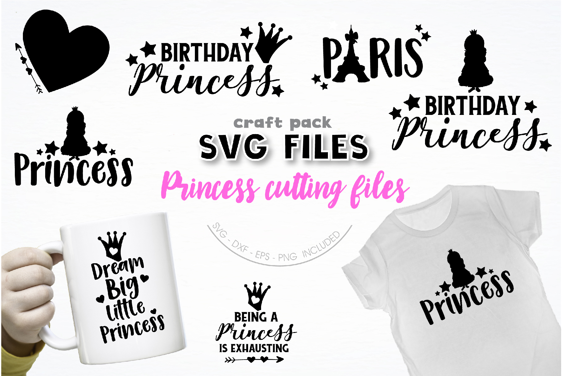 The AMAZING CRAFT BUNDLE, 1500 in 1, cutting file svg, dxf, example image 30