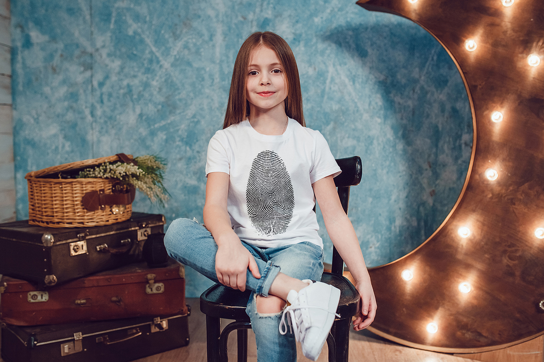 Kids T-Shirt Mock-Up Vol.1 2017 example image 6