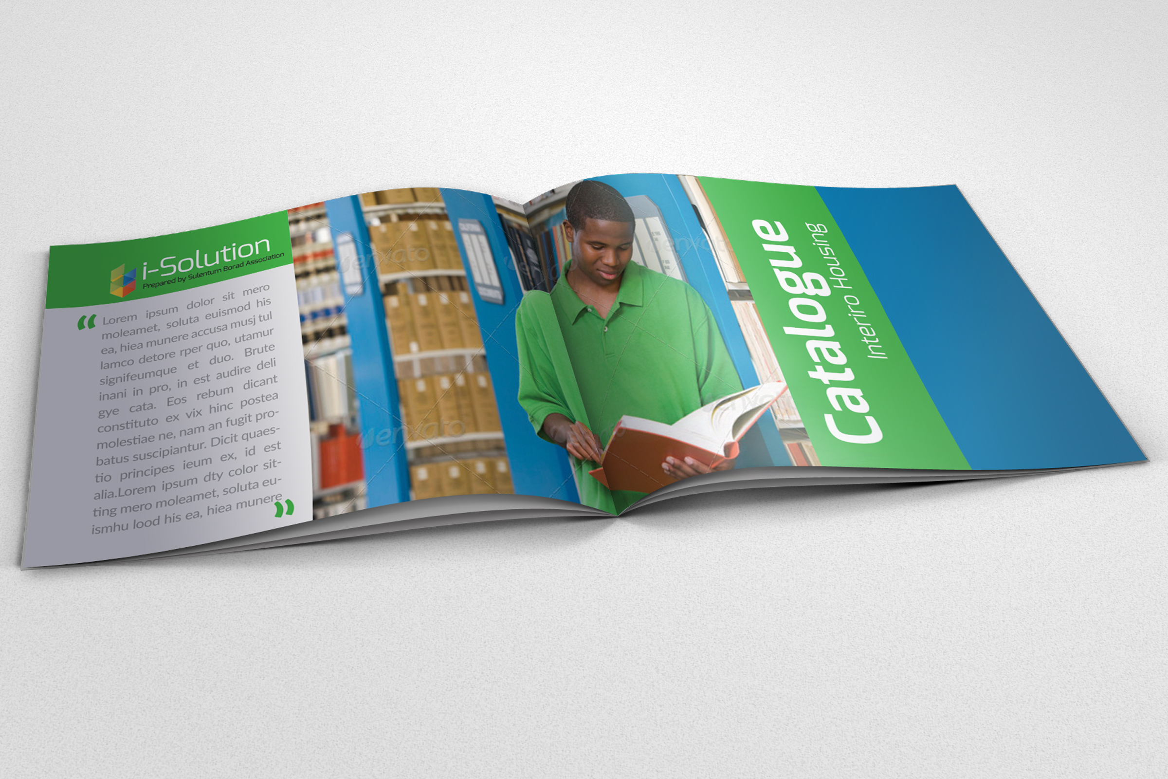 20 Pages Catalogue Education Bifold Brochure example image 3