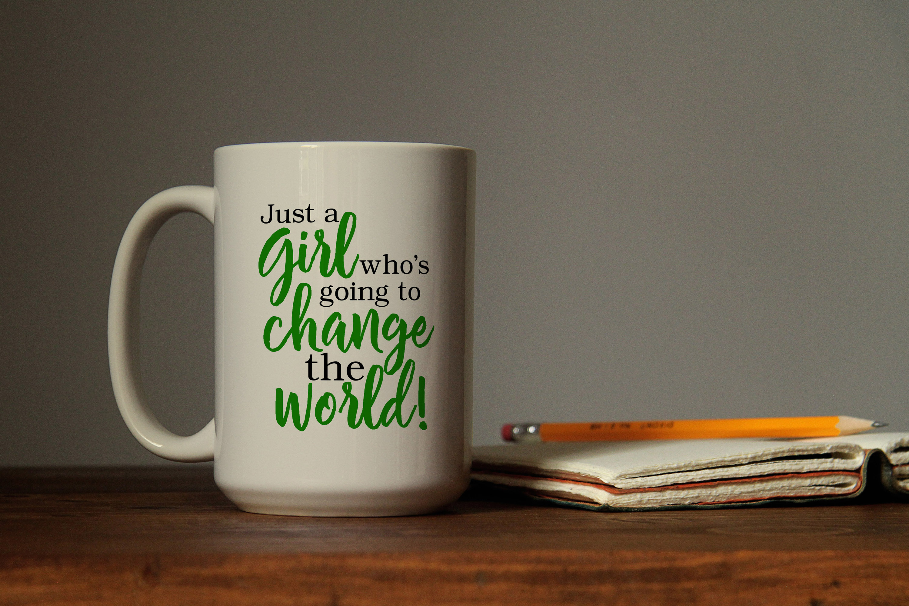 Just a girl who's going to change the world svg digital example image 3