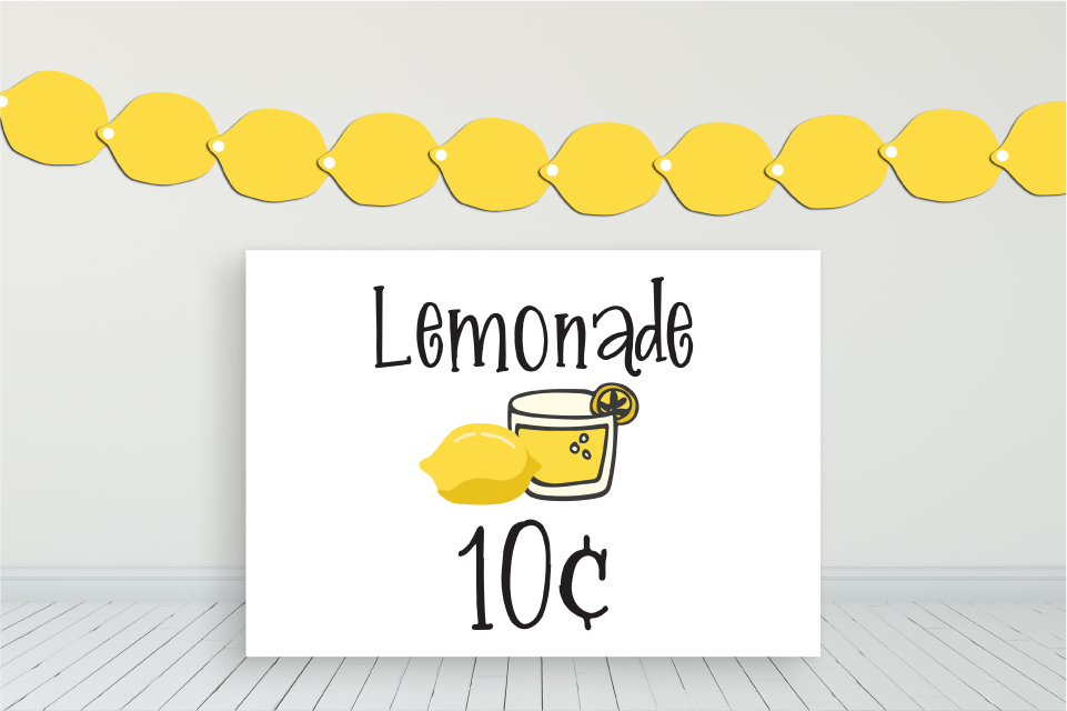 Lemonade Stand Bundle plus bonus posters example image 10