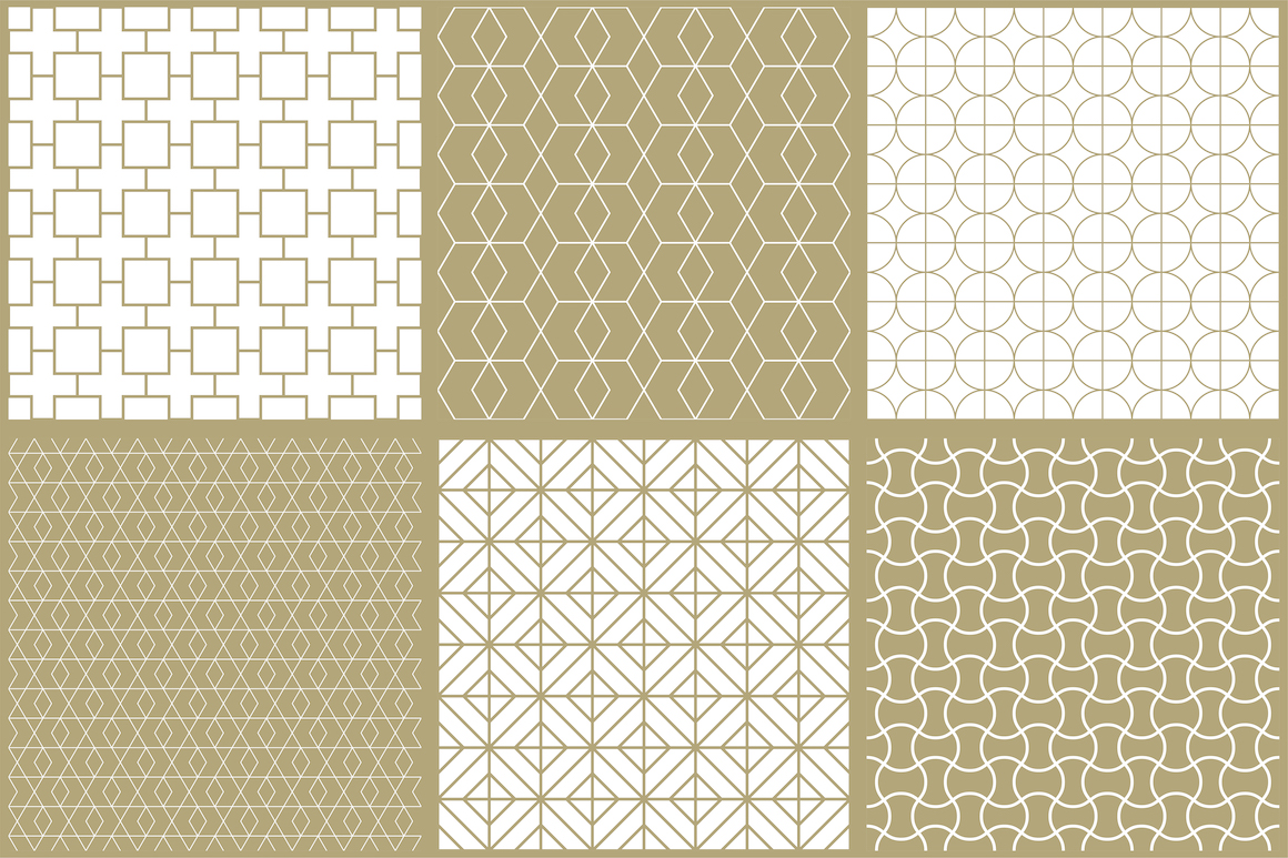 Vector ornamental seamless patterns example image 10