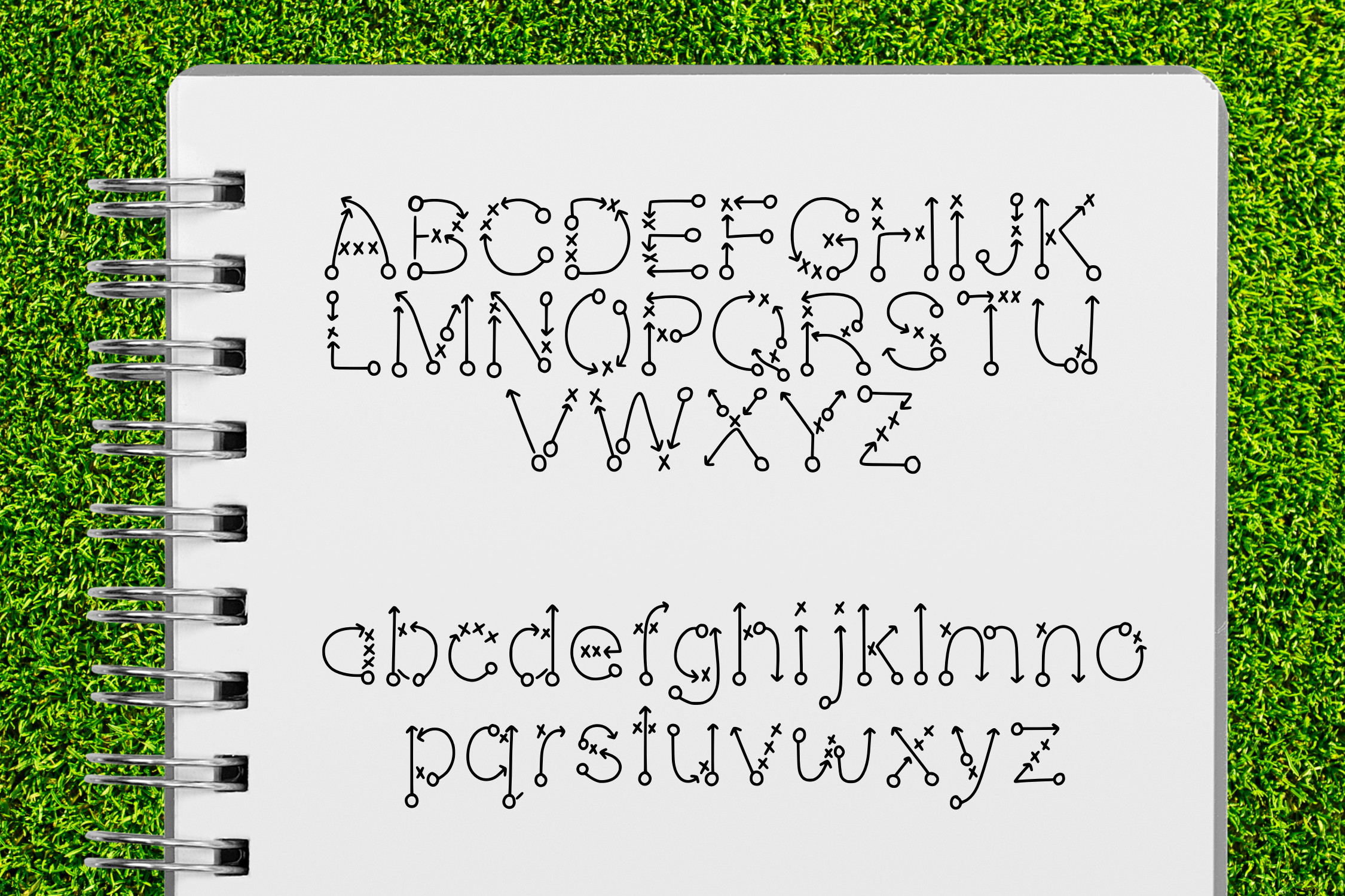 Play Book a Play by Play Font example image 2
