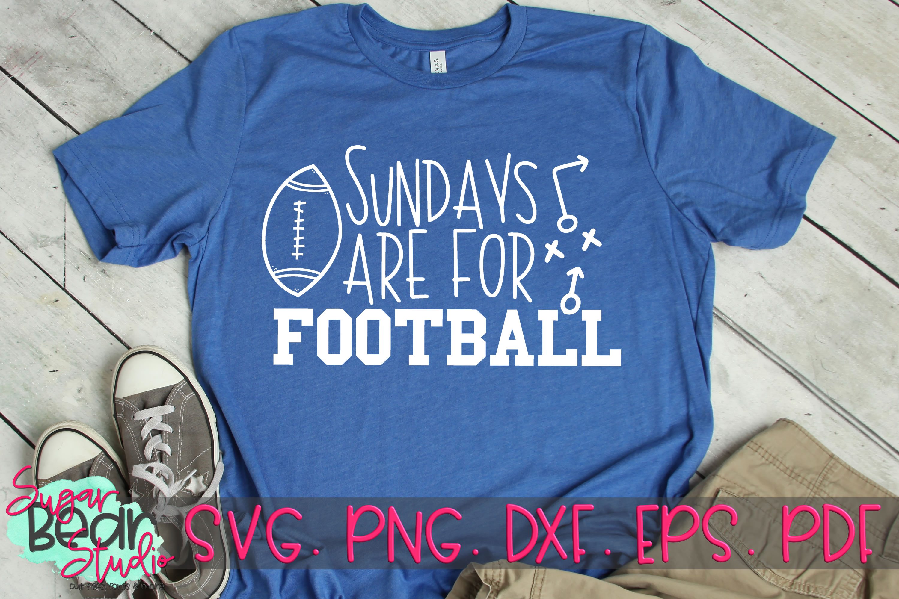 Sundays Are For Football - A Football SVG example image 2