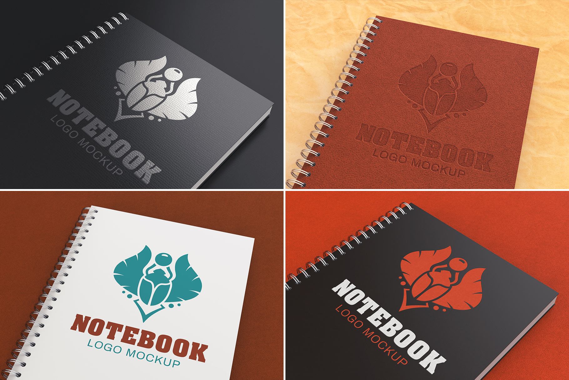 100 Logo Mockups Bundle Vol.2 example image 18