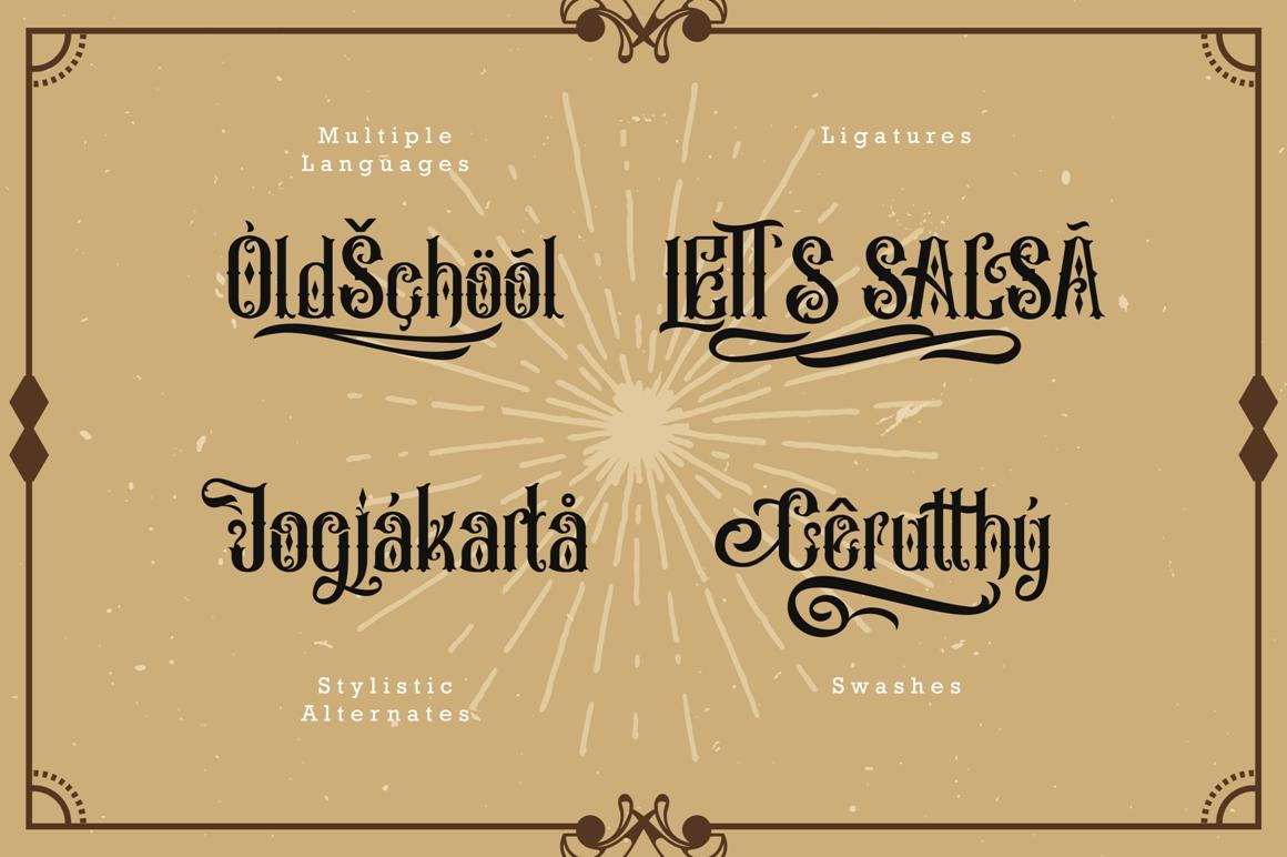 Besigetz Typeface example image 5