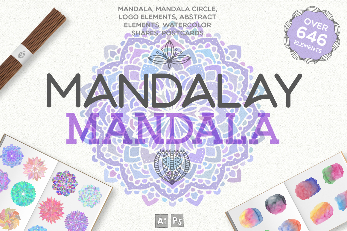 Mandalay Mandala [646 Elements] example image 1
