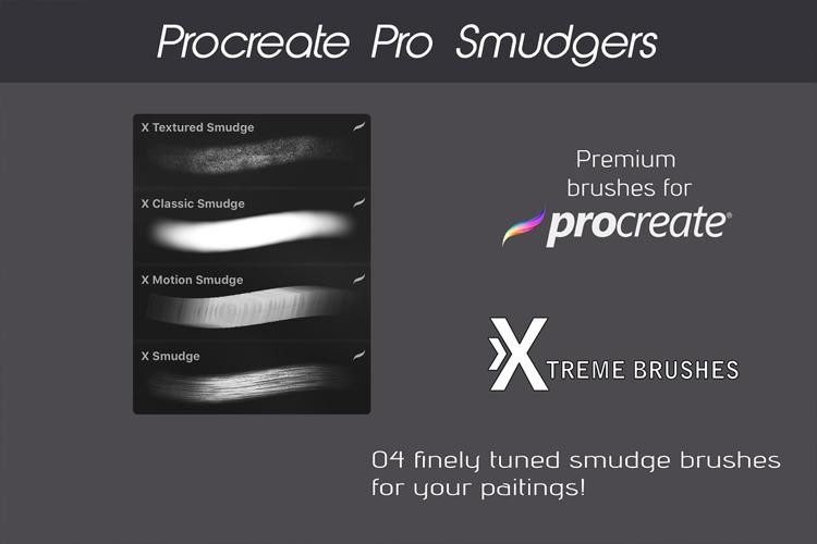 Procreate Pro Smudgers example image 2