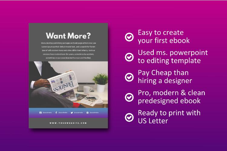 Social Media Tips & Marketing eBook Template example image 9