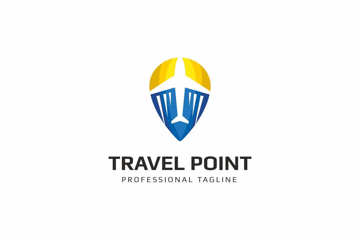 Travel Point Logo example image 1