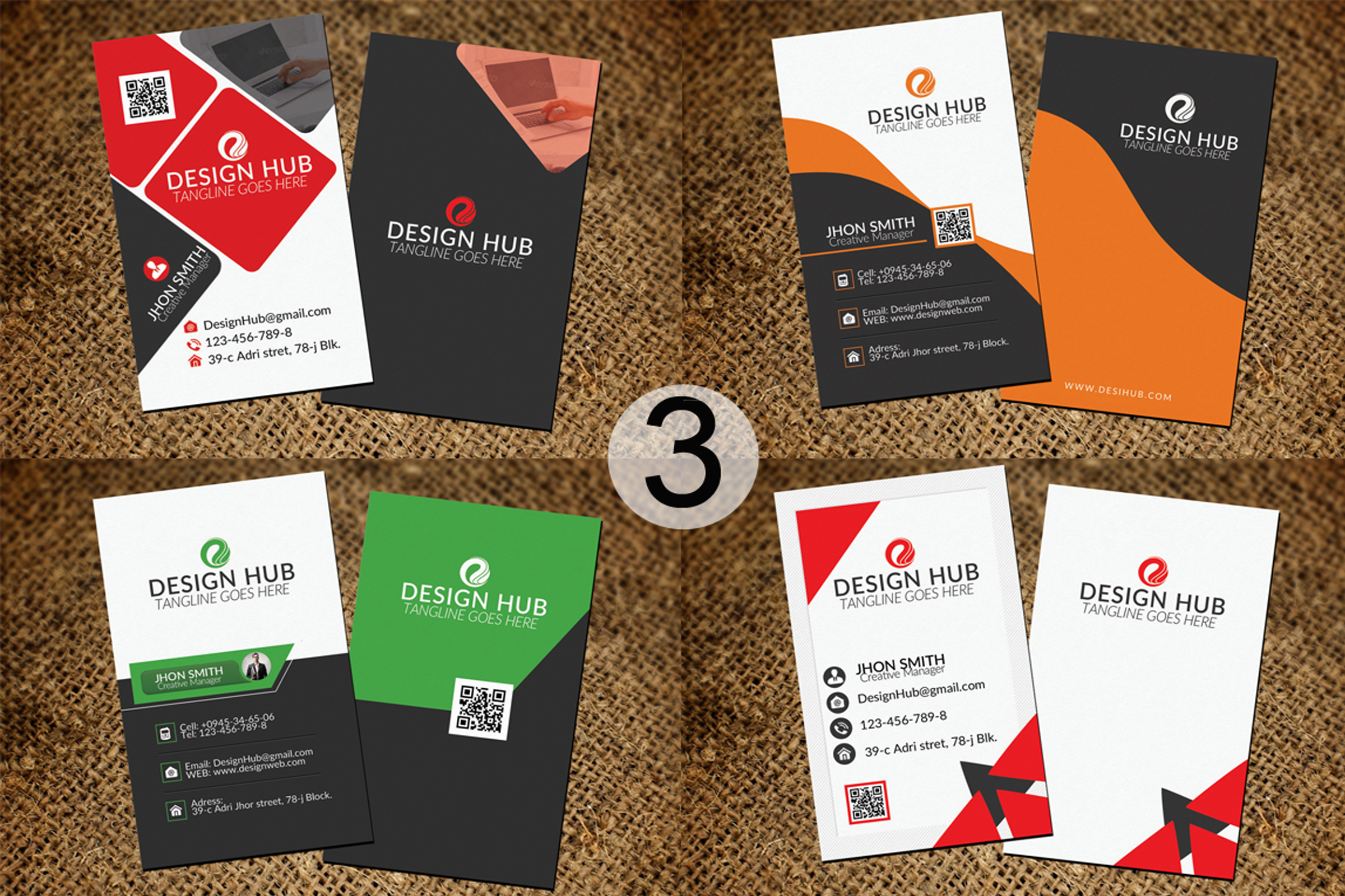 32 Business Cards Bundle Deal example image 4
