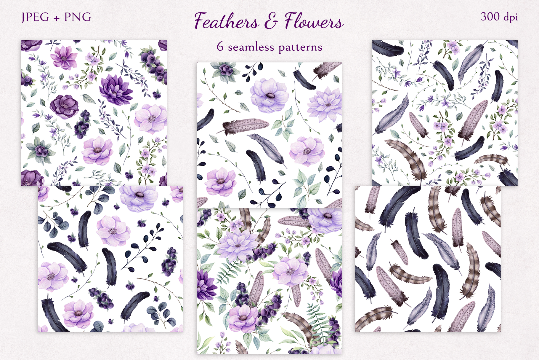 Feathers & Flowers example image 9