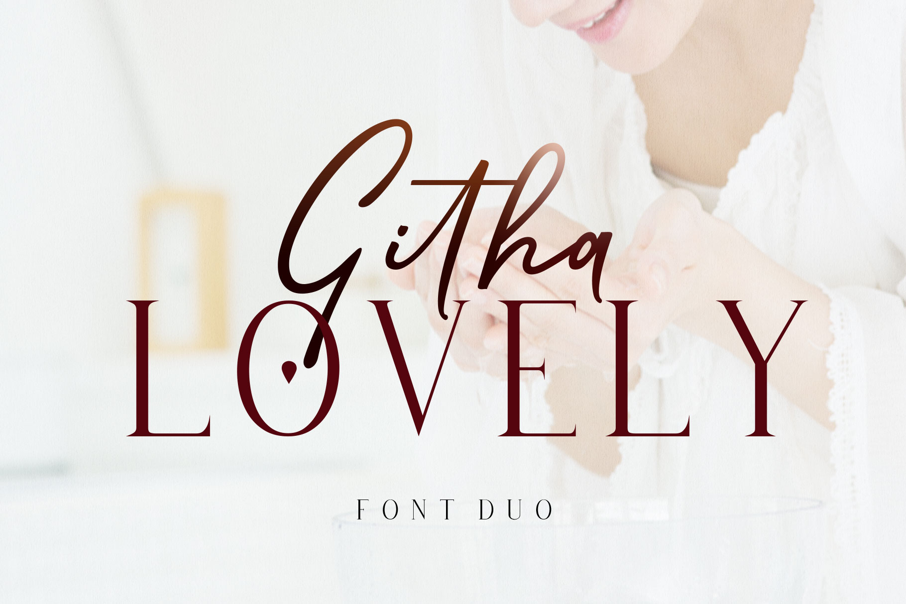 Githa Lovely  Font Duo example image 10