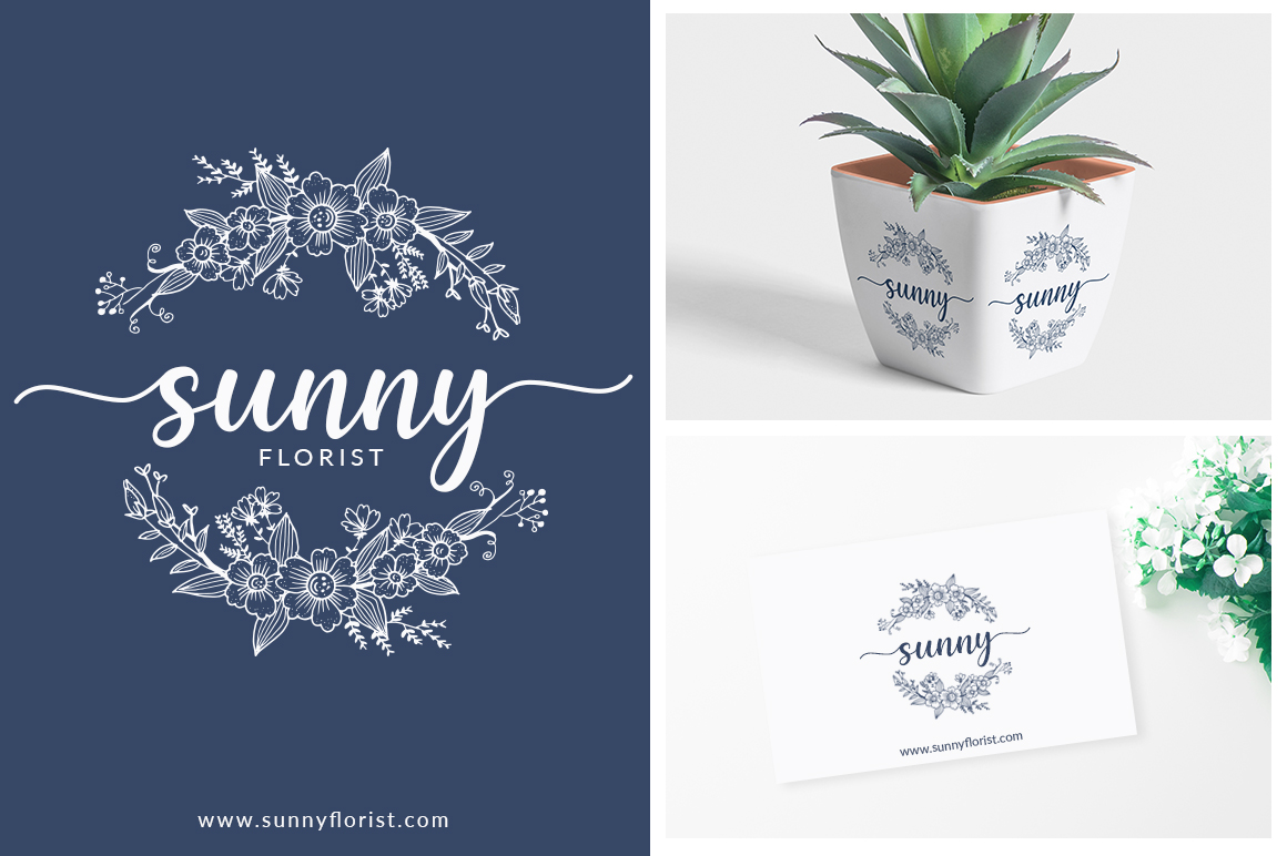 Dahlia Handlettering Font example image 2