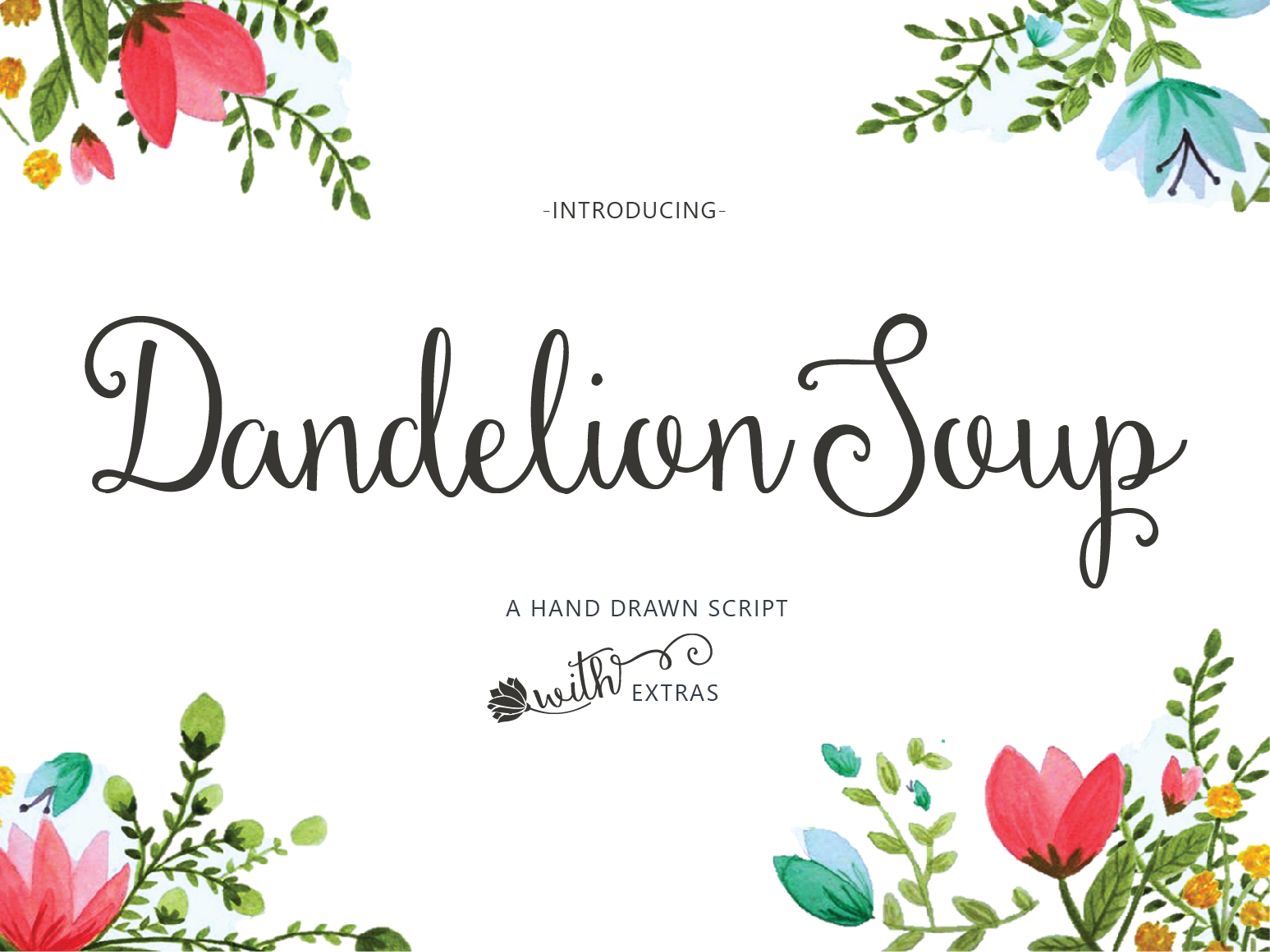 Dandelion Soup + Ornaments example image 1