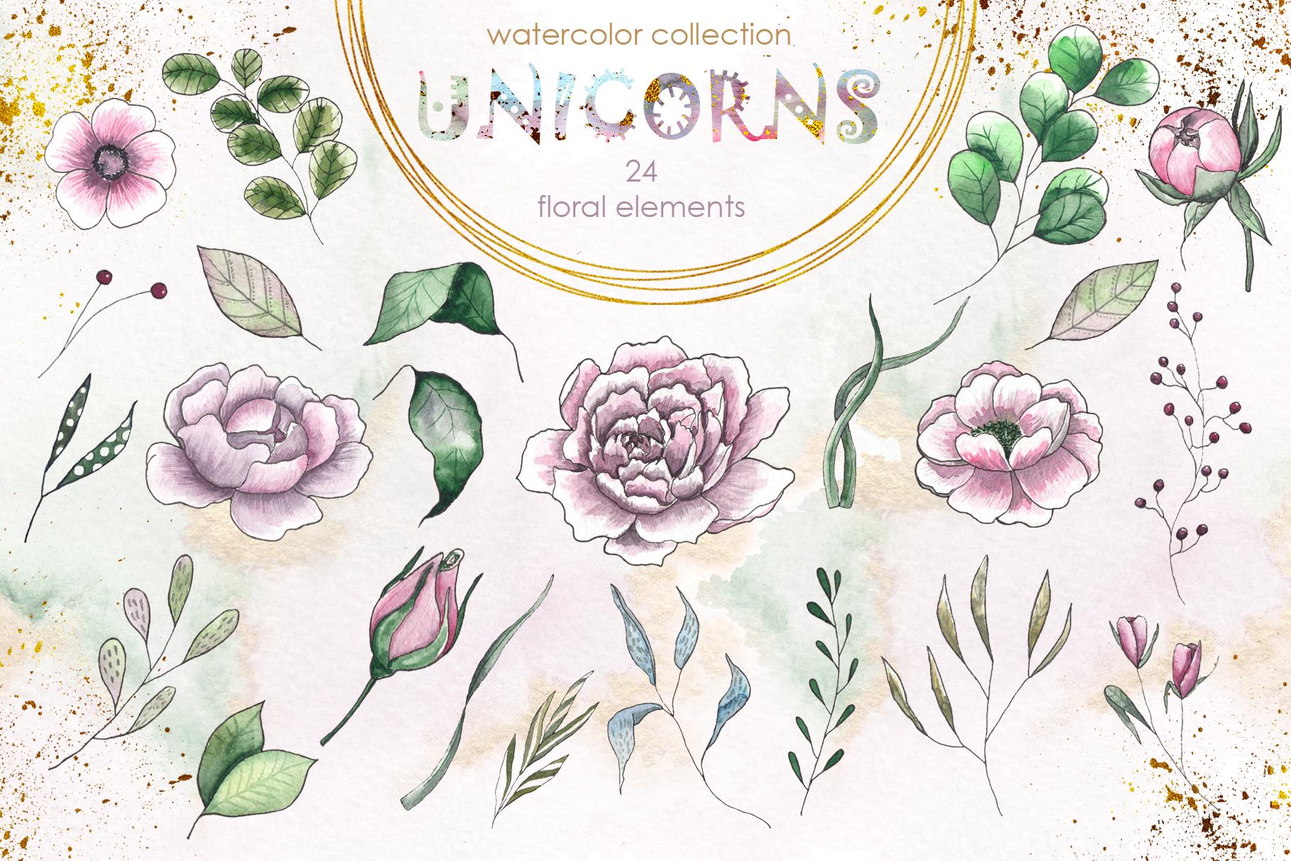 Charming Unicorns Bundle example image 20
