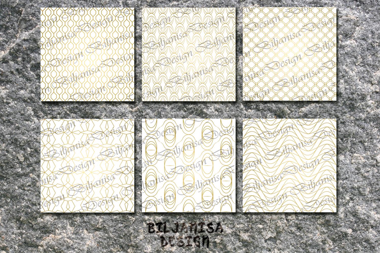 Ornamental luxury seamless patterns example image 3