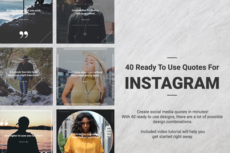 40 Instagram Quotes  example image 2