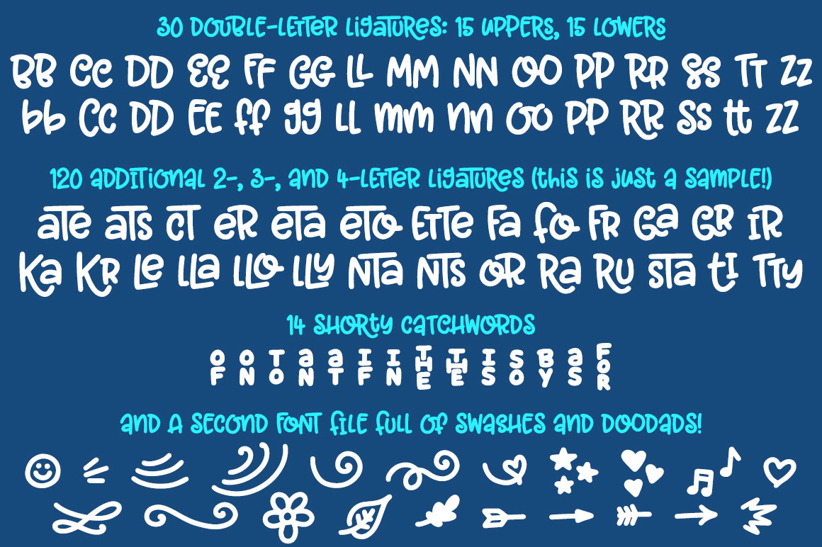Garlic Butter a tasty fun font! example image 3