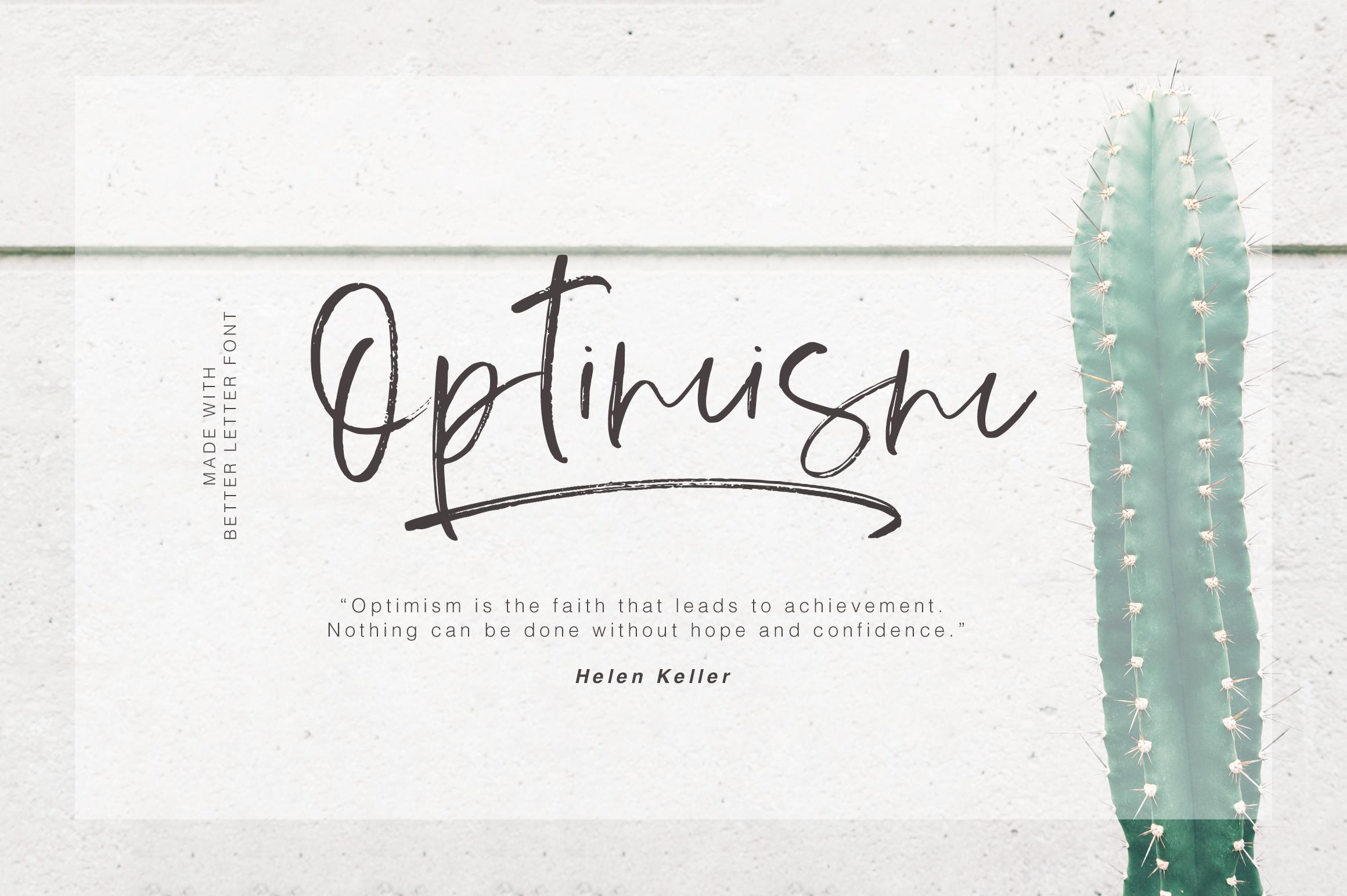 Better Letter Font example image 2