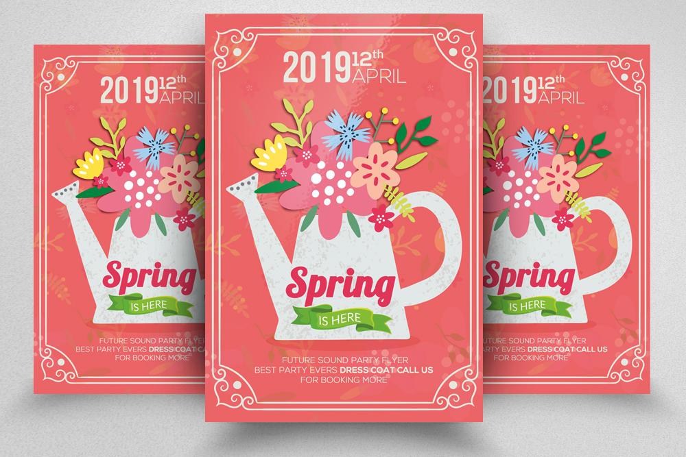 4 Spring Festival Flyers Bundle example image 3