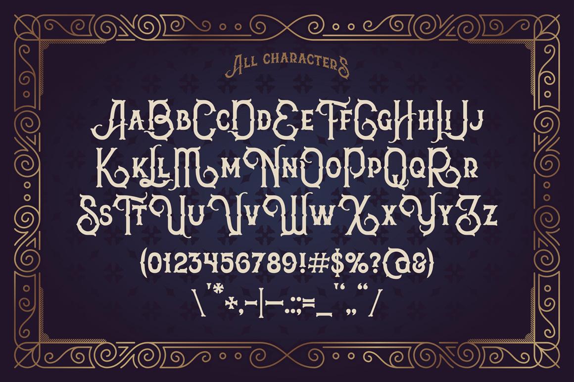 The Far Kingdoms font example image 3