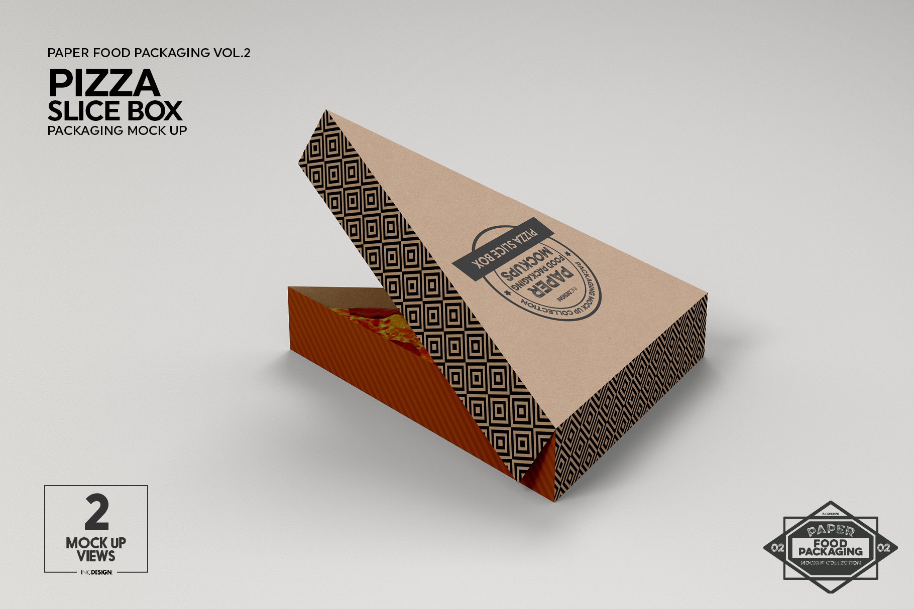 VOL.2 Food Box Packaging MockUps example image 14