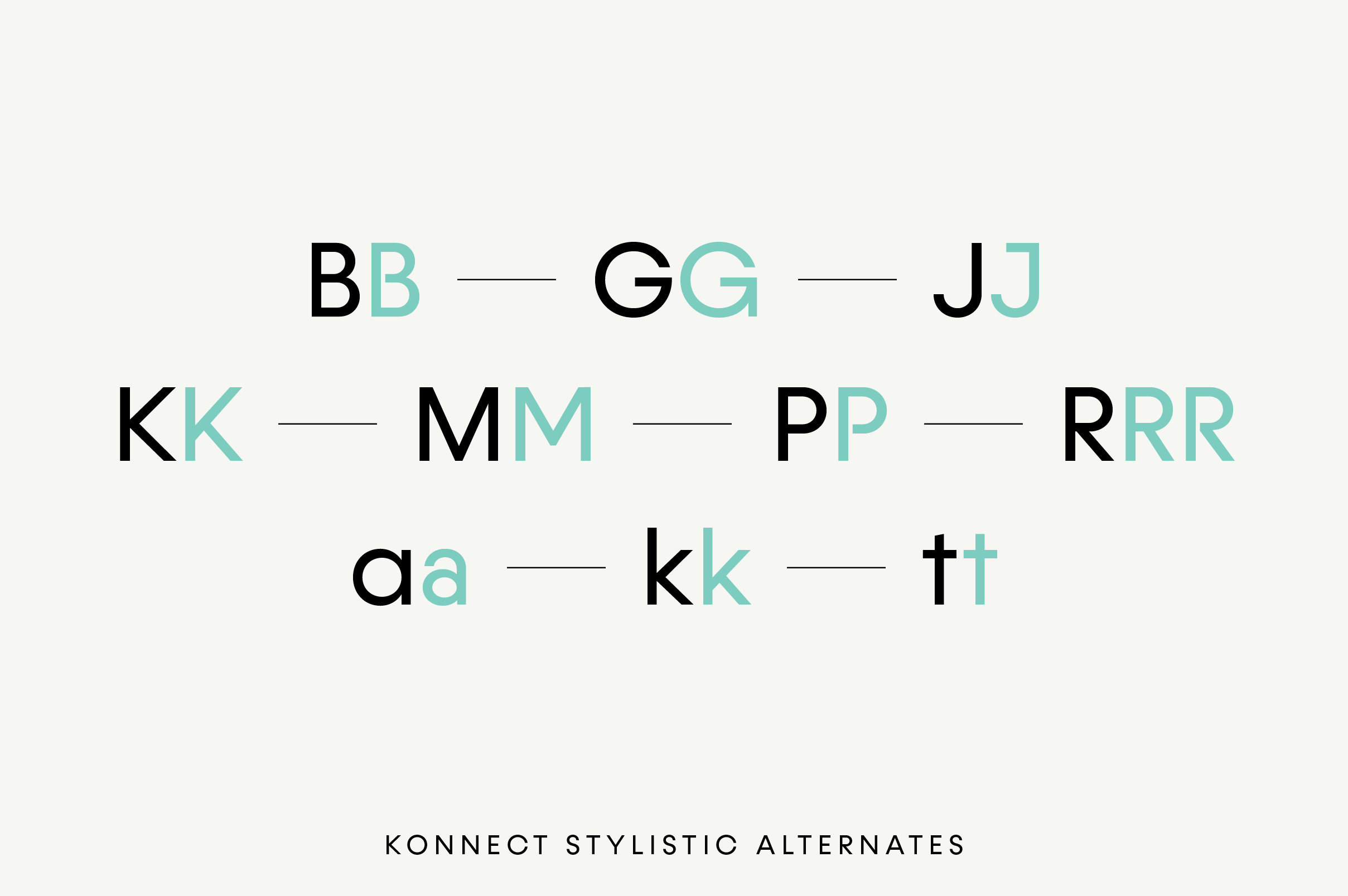 Konnect Regular & Italic Fonts example image 11